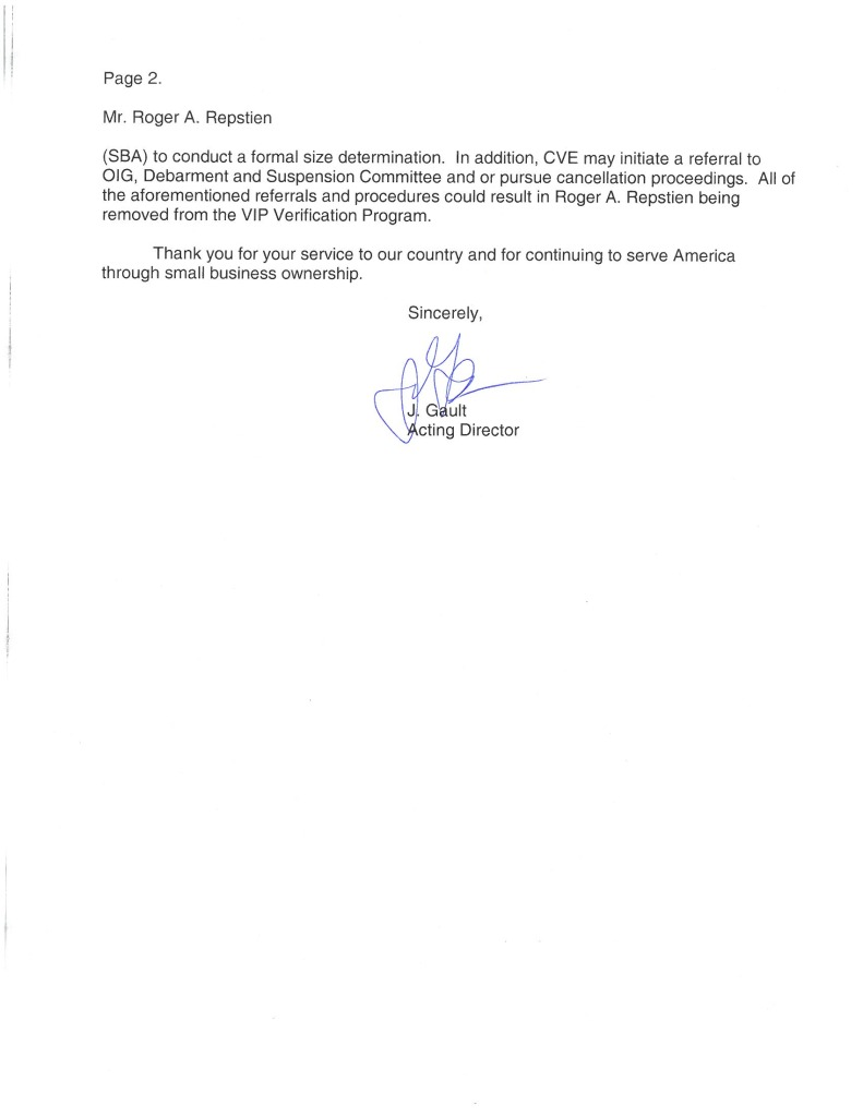 SDVOSB Verification Letter-2